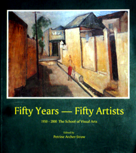 Book title of book Fifty Years - Fifty Artists