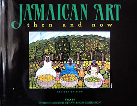 Book title of Jamaican Art then and now
