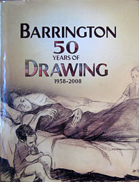 Book title of Barrington - 50 years of Drawing