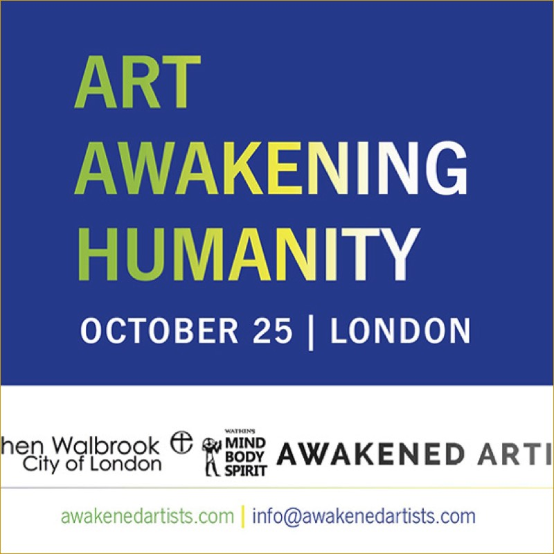 image Art Awakening Humanity at St Stephen Walbrook London 2017