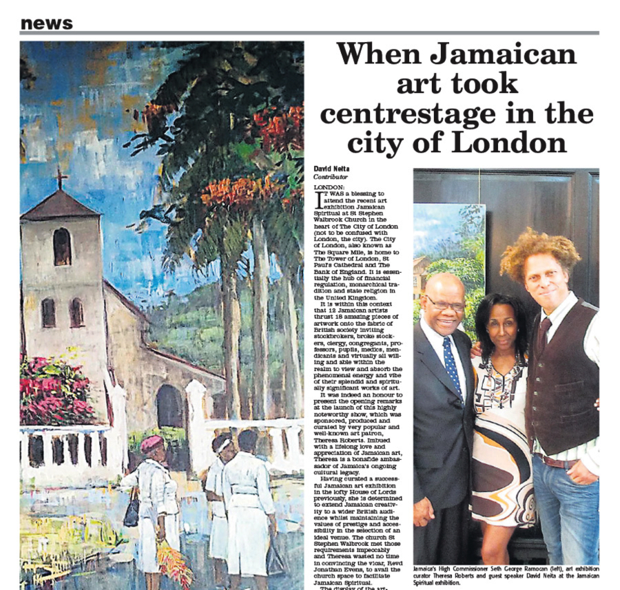 When Jamaican art took centrestage in the city of London
