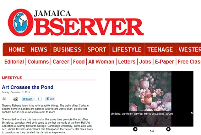 Press Information and News from Art Jamaica